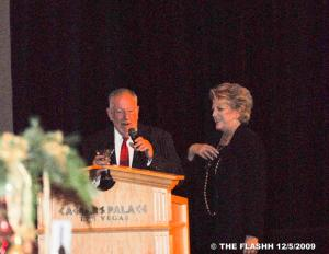 Oscar & Carolyn Goodman, Caesar's Palace event