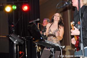 Donna & her tambourine